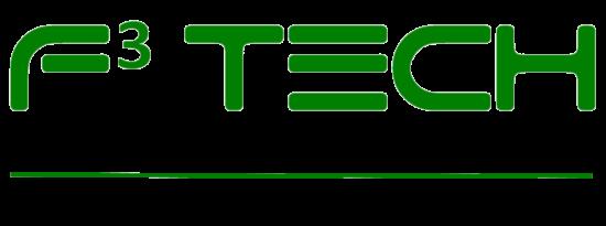 F3 Tech Logo Agritech Aquatech Envirotech